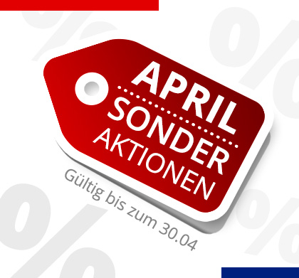 Sonder Aktionen April 2020