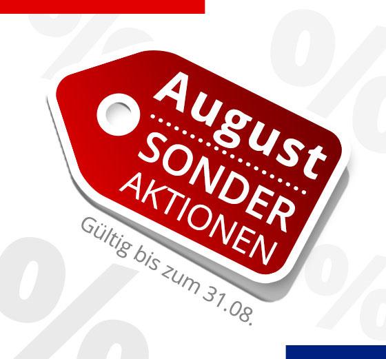 Sonder Aktionen August 2020