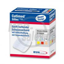 Cutimed® Siltec® Plus Schaumverband