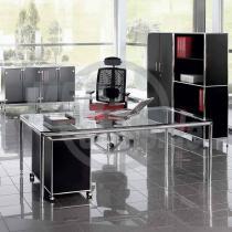 modul space Schreibtisch mit Melaminplatte