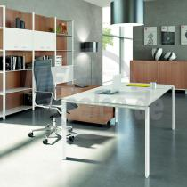 X7 Schreibtisch mit Melaminplatte