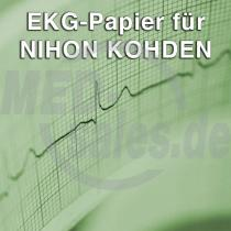 EKG-Papier für Nihon-Kohden EKG 9620 / 1150