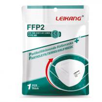 FFP2 LEIKANG Einmal-Maske mit Konformitätsbescheinigung und CE-Zertifikat (ab 20 St. zu je EUR 0,79)