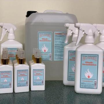 WHO-Desinfektionsmittel für die Händedesinfektion (sofort lieferbar)