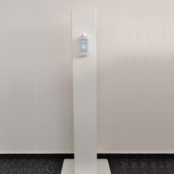 Säulenspender light mit 500 ml Desinfektion (sofort lieferbar)