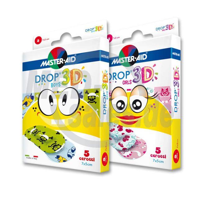 DROP® 3D Kinderpflaster