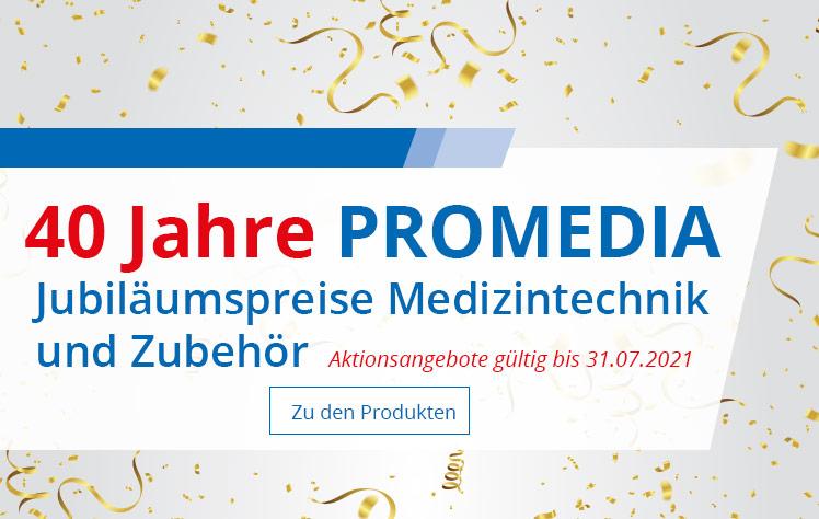 40 Jahre PROMEDIA Jubilaeumspreise Medizintechnik und Zubehoer