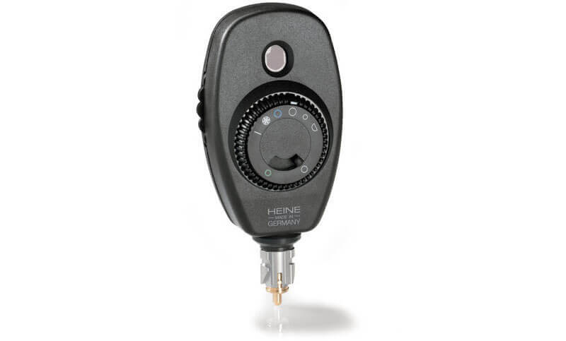 Heine Ophthalmoskop Beta® 200 Rückansicht