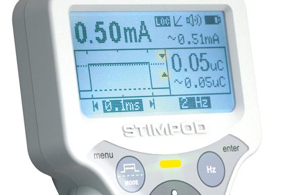 Stimpod - TOF-Monitoring und Nerv-Mapping